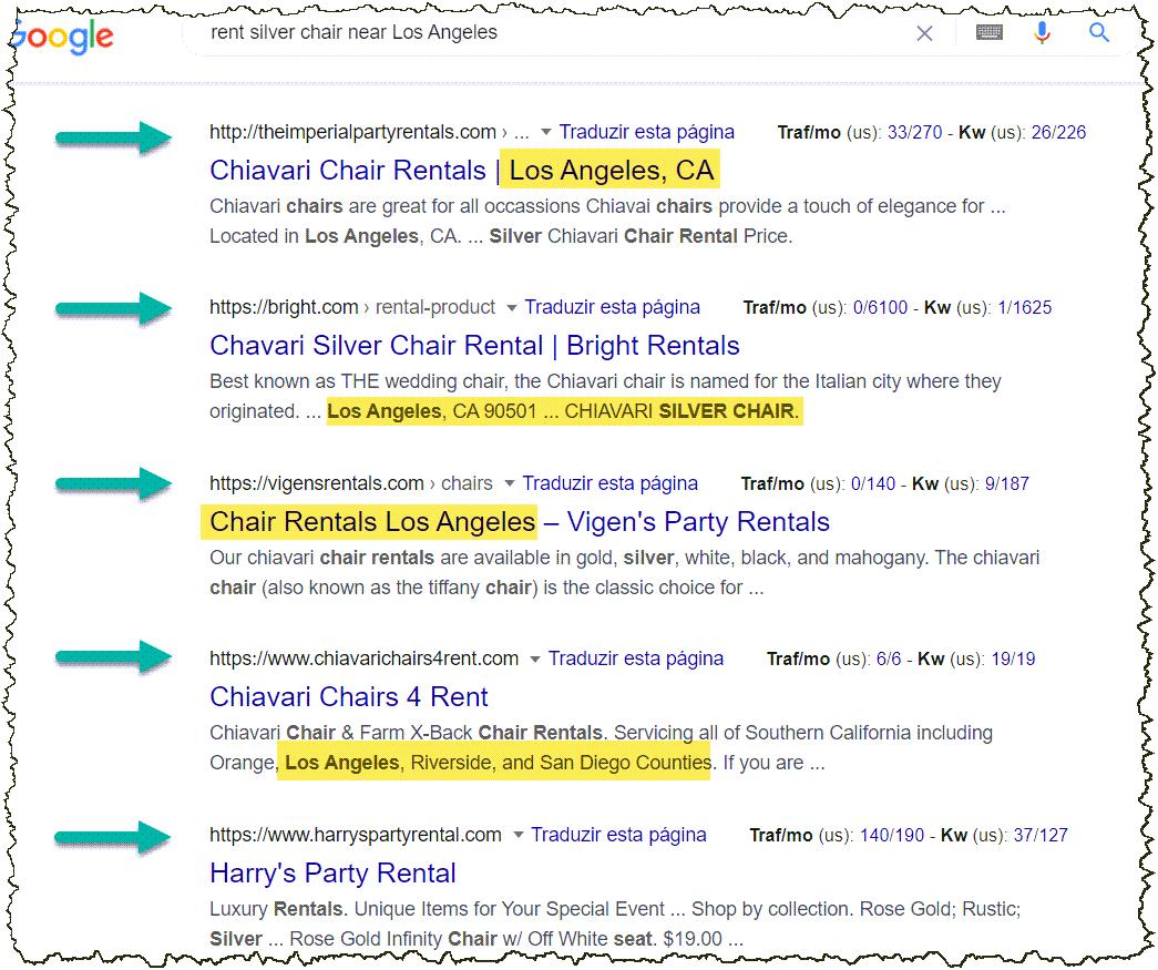 successful google search