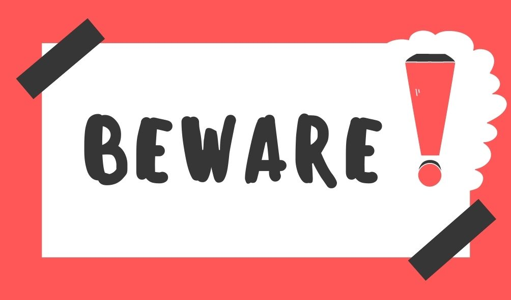Beware The Work From Home Scams