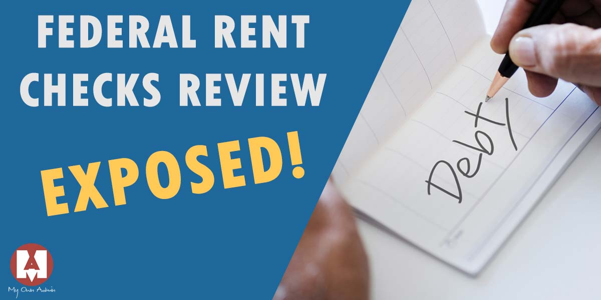 Federal Rent Checks Review! Truth Exposed