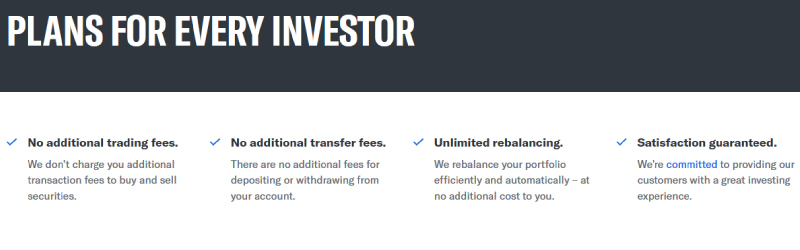 betterment plans for every investor
