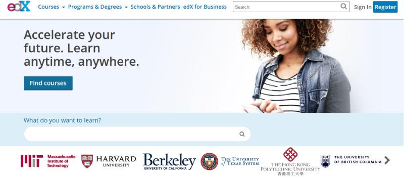 edx homepage