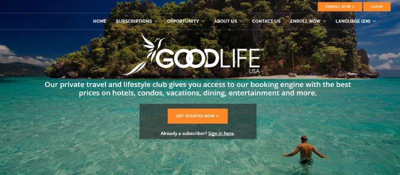 goodlife usa homepage