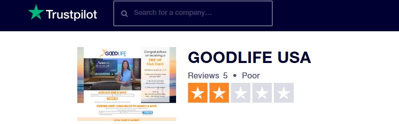 goodlife usa trustpilot