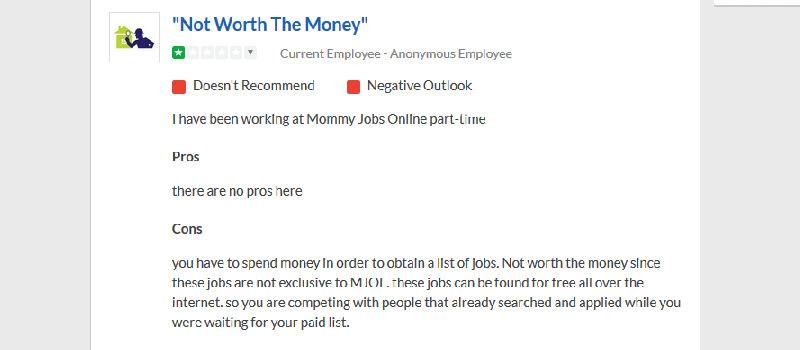 is mommy jobs online legit