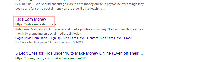 kids earn money kids earn cash
