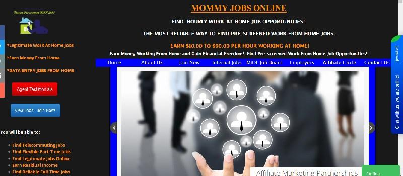 mommy jobs online scam
