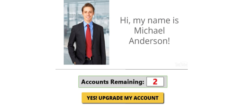 my home job search michael anderson is fake