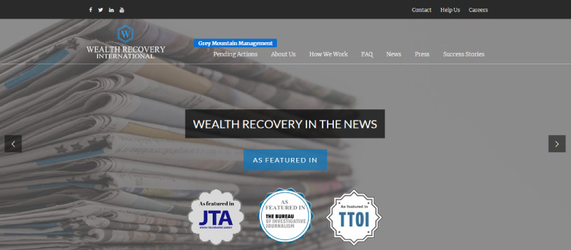 is wealth recovery international legit