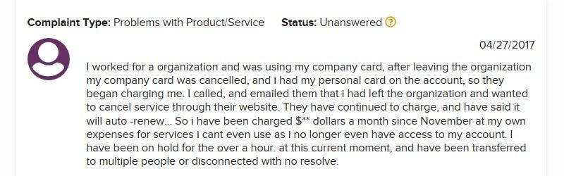 snagajob.com bbb complaint