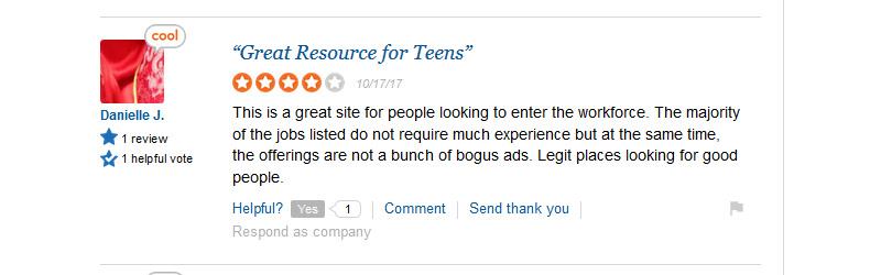 snagajob.com sitejabber customer complaint