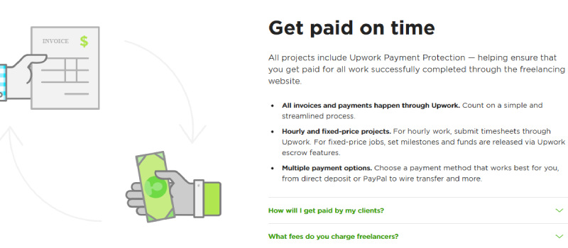 upwork payment protection