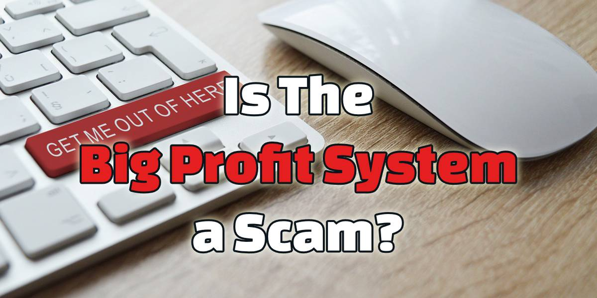 is the big profit system a scam