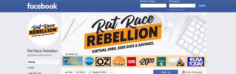 rat race rebellion social media accounts