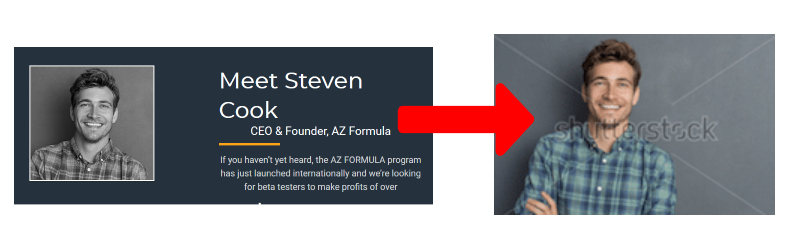 the az formula fake owner
