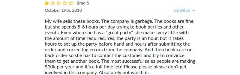 usborne books complaints