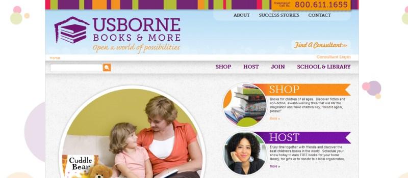 usborne books homepage