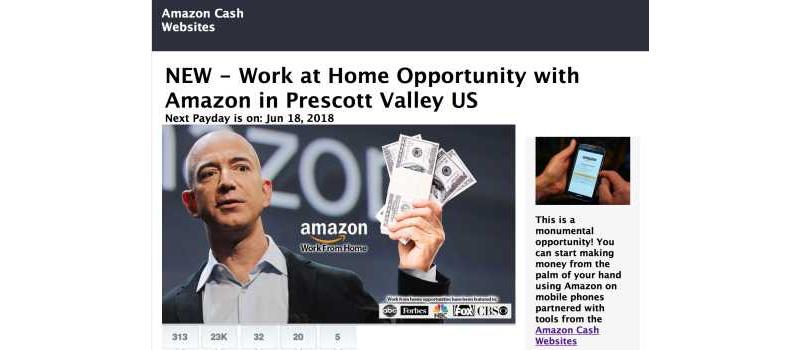 amazon cash websites homepage