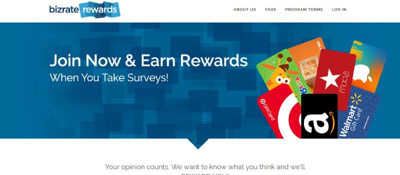 bizrate rewards homepage