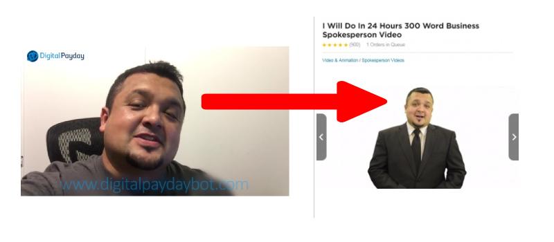 digital payday fake testimony
