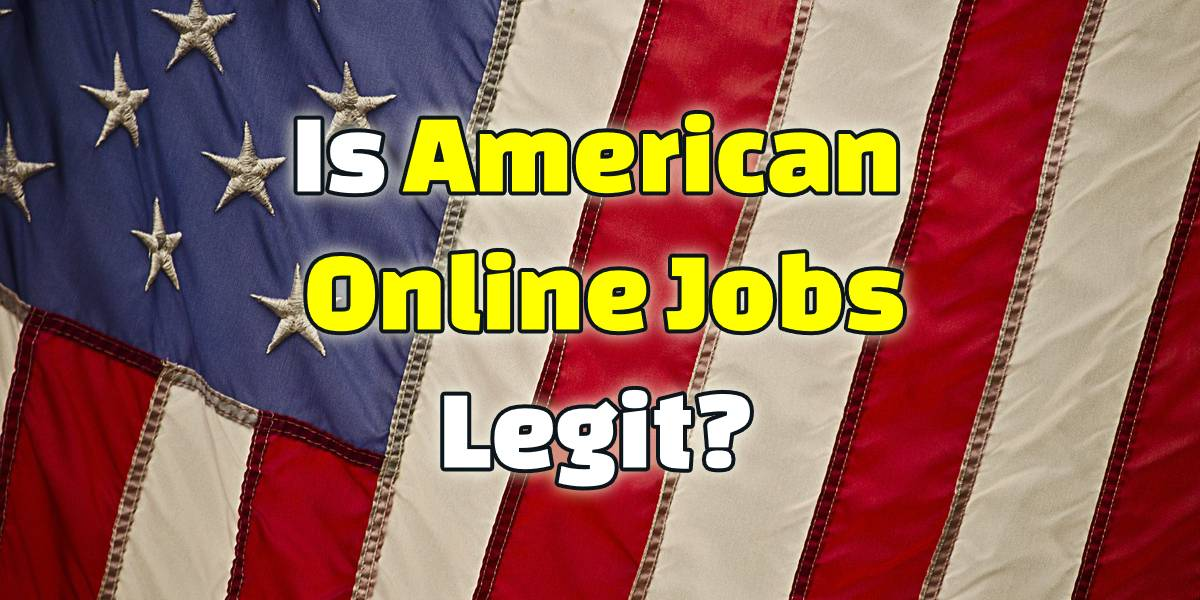 is american online jobs legit