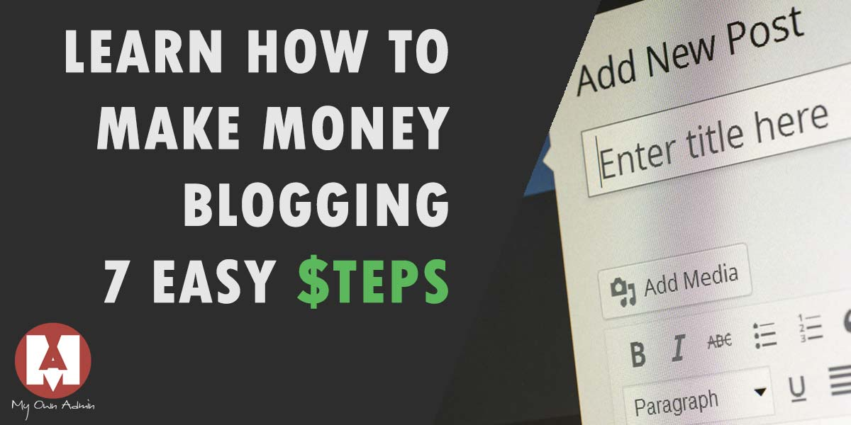learn how to make money blogging