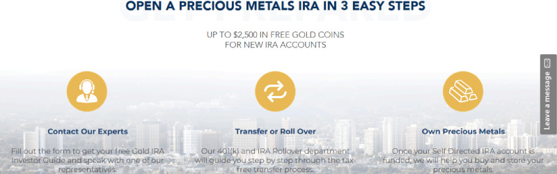 patriot gold group how to open a precious metal ira