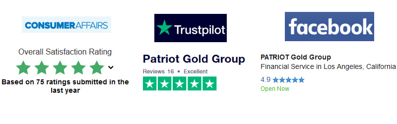 patriot gold group positive ratings