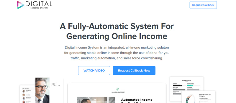 digital income system homepage