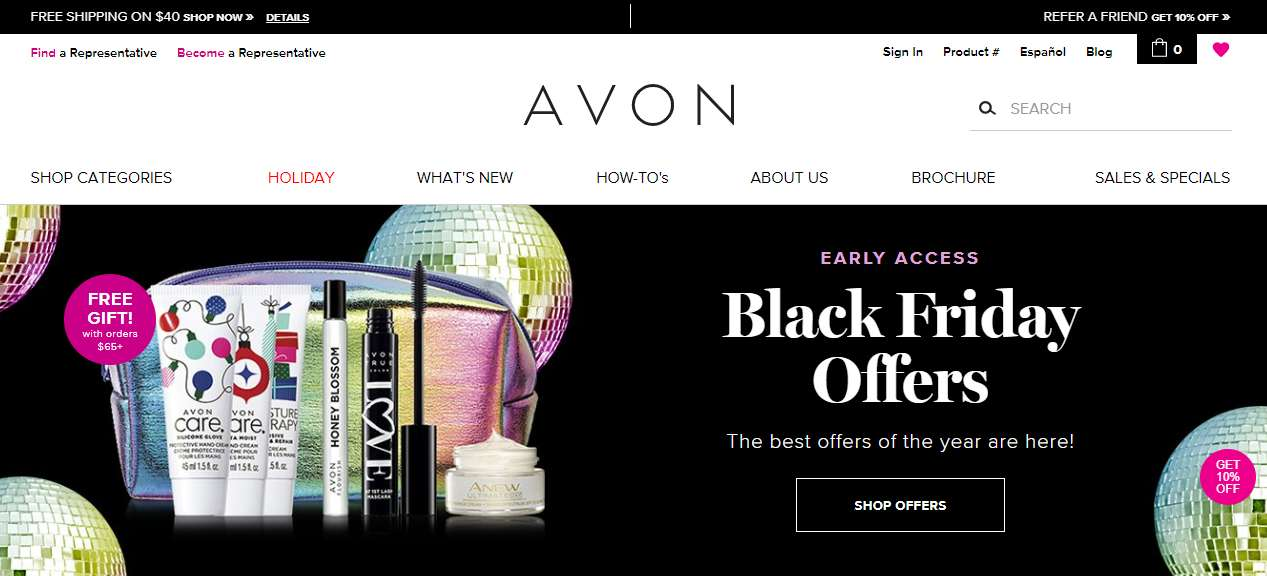 is avon products a scam