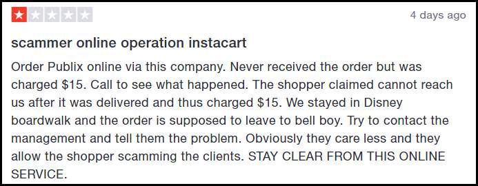 is instacart a scam