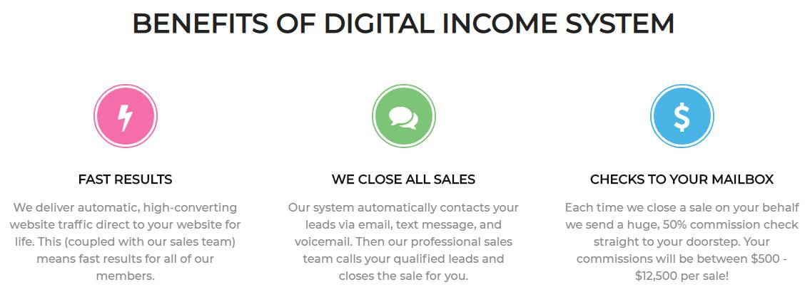 is digital income system a scam