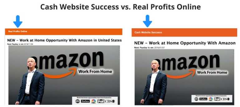is cash website success a scam