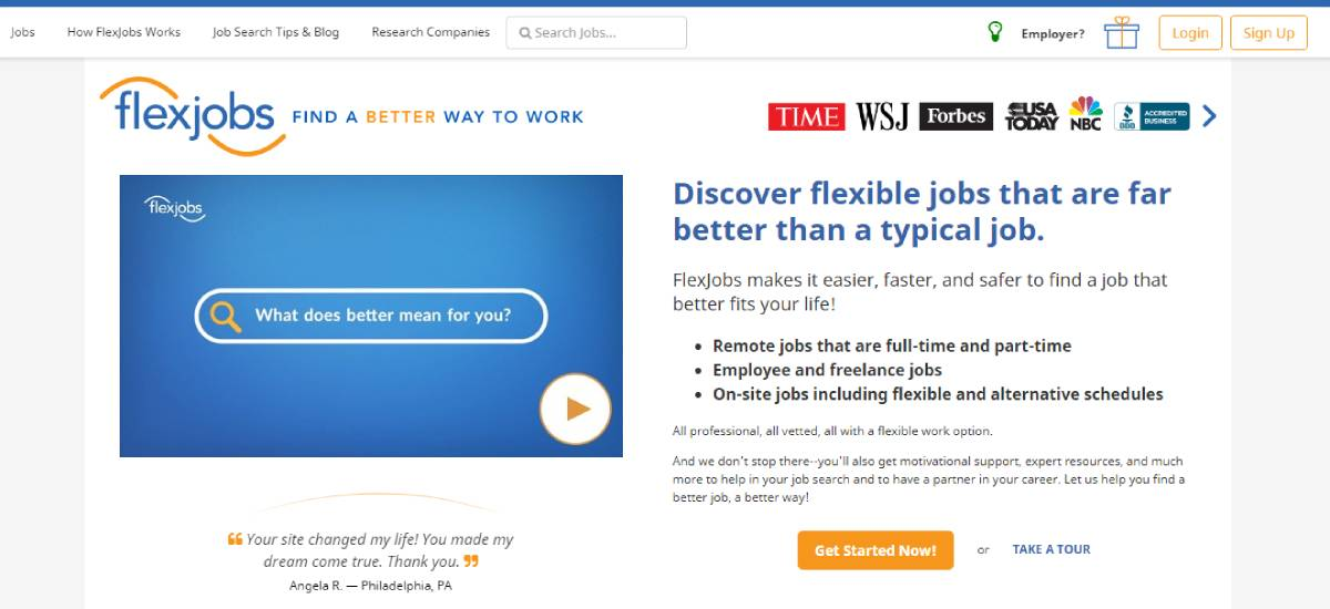 is flexjobs a scam