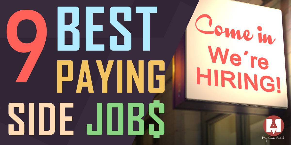 Best Paying Side Jobs