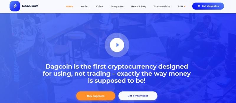 dagcoin homepage