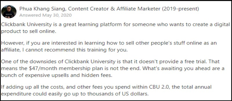 Yes But It looks like it lacks training in affiliate marketing