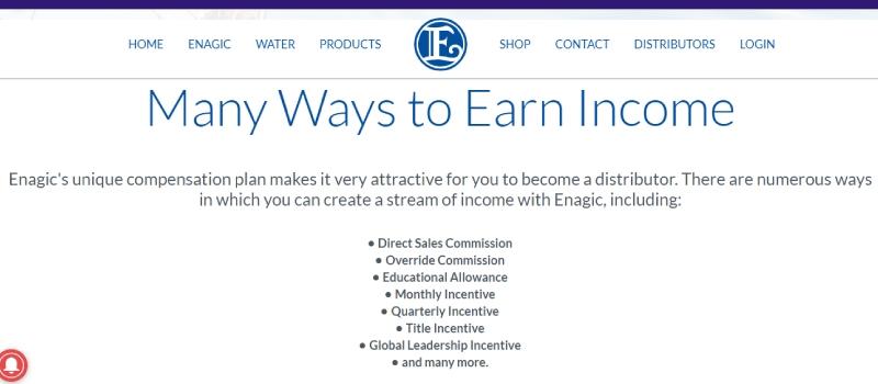 affiliate institute leads you to enagic