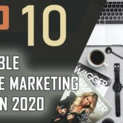 TOP 10 Profitable Affiliate Marketing Niches