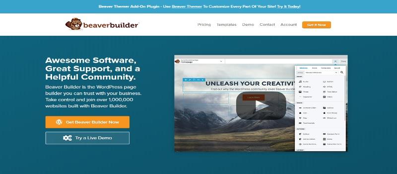 Beaver Builder Homepage
