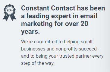 Constant Contact Excels From Its Competitors