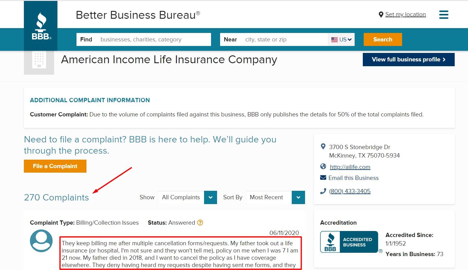 American Income Life Insurance scam