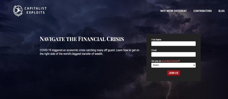 Capitalist Exploits Homepage