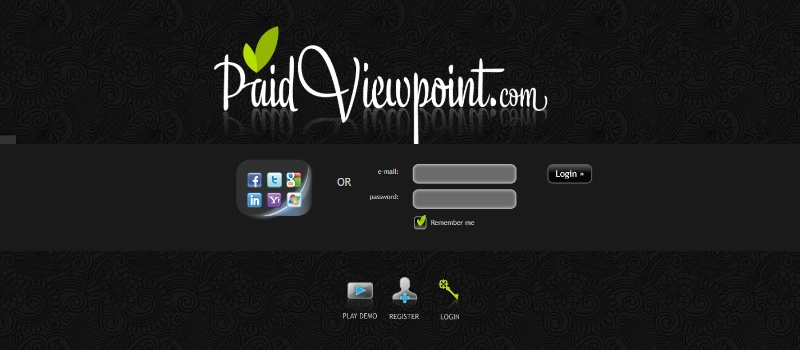 Paid Viewpoint Homepage
