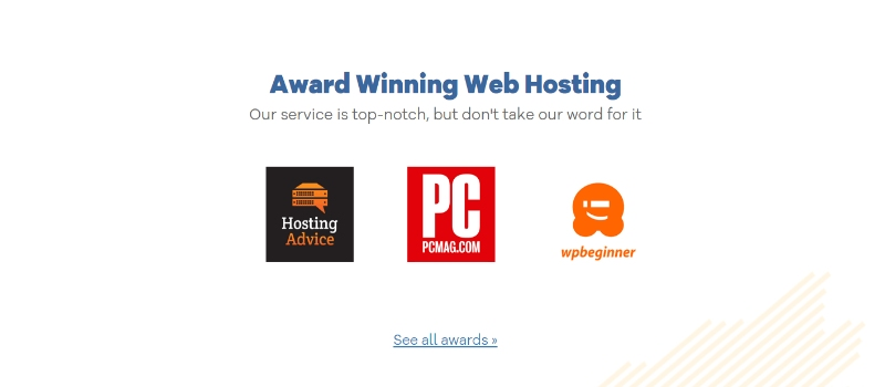 HostGator is trustworthy and has gained awards over the years of operation
