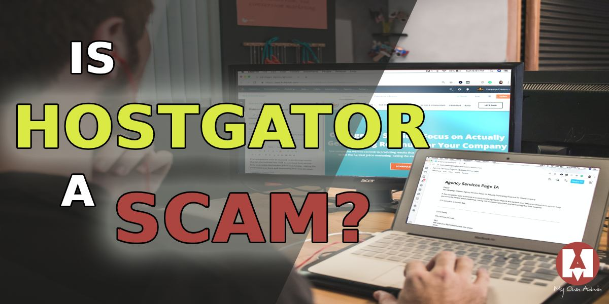 Is Hostgator a scam