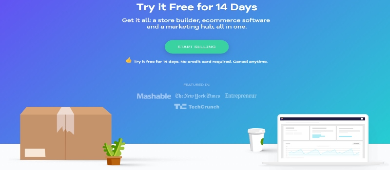 Try Volusion 14days free trial today