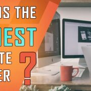 What Is the Easiest Website Builder?