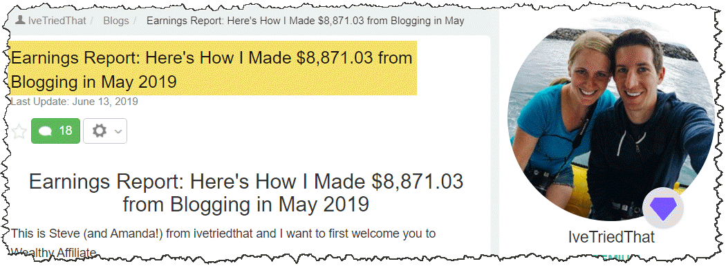 Steve Success Story